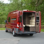 Leisure-Treka ELS rear doors open