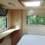 Euro-Treka QB rear bedroom
