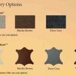 Moto-Trek upholstery options